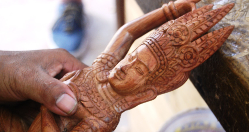 Cambo Carving Siem Reap
