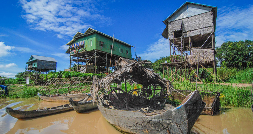 Floating Villages and Beng Melea tour 2Days