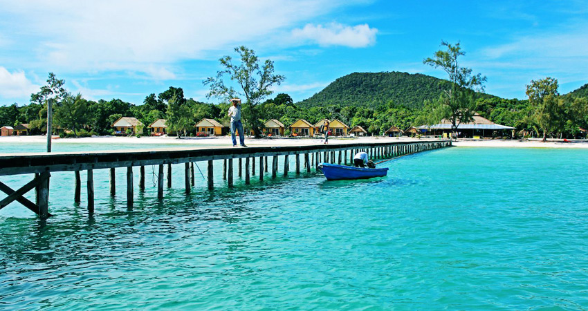 Sihanoukville beach resort tour 2days - 3days - 4days - 5days