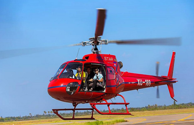 Cambodia Helicopter Tours