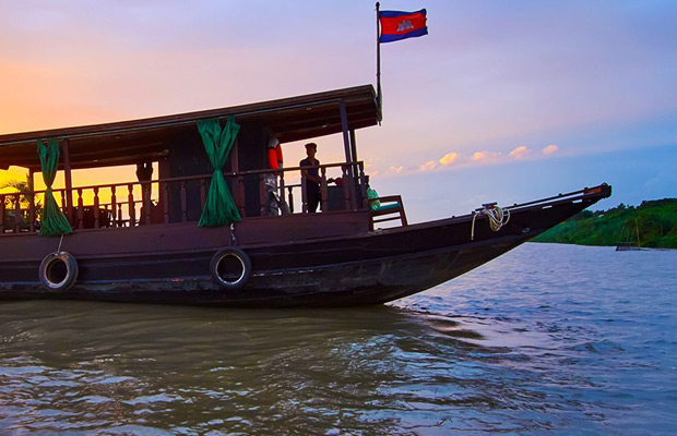 Sunset Cruise on Tonle Sap